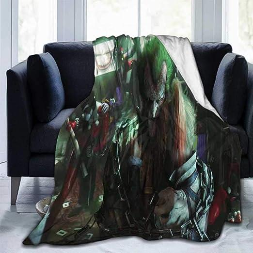 New Offer Custom Harley Quinn Travel Home Office Bedding Soft Blanket 58x80 inch