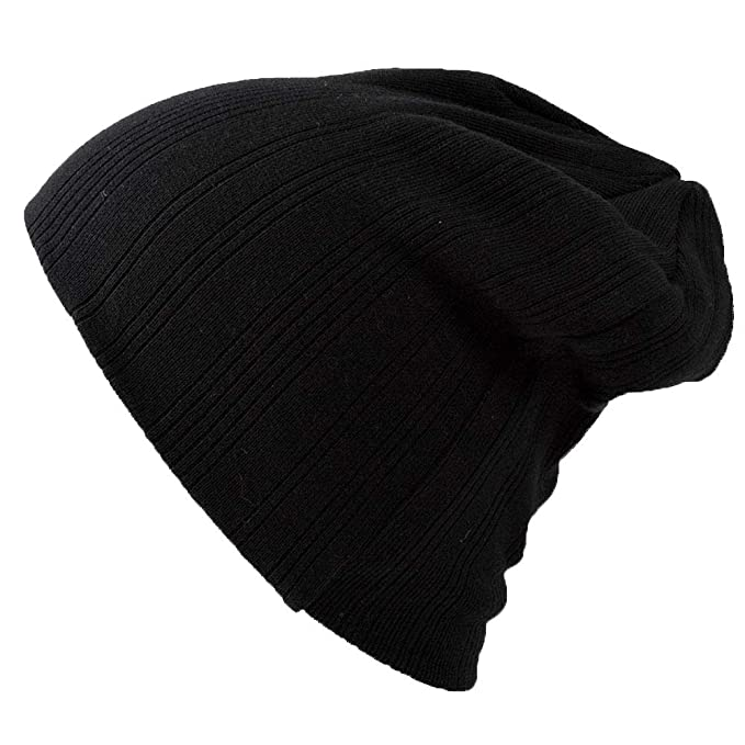 Casualbox Mens Womens Cool Sports Beanie Hat Unisex Knit Cap Style Fast  Drying Black 07b05c881d