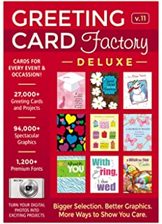 Amazon hallmark card studio 2018 download software greeting card factory deluxe 11 download m4hsunfo