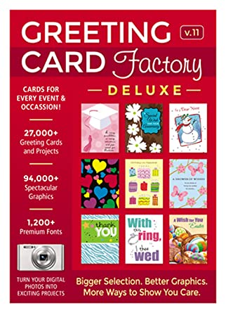 Amazon greeting card factory deluxe 11 download software greeting card factory deluxe 11 download m4hsunfo