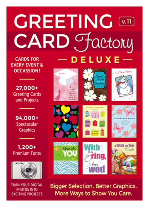 Greeting Card Factory Deluxe 11 [Download]