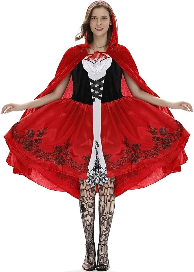KLAWQ Ropa de Mujer Vestido de Abrigo Sexy Vestido de Halloween ...