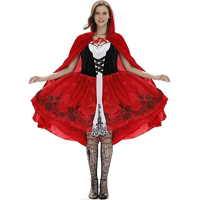 Amazon.com: KLAWQ Women Retro Dresses Plus Size Halloween ...