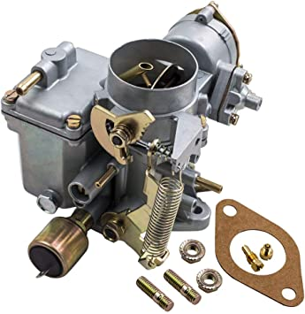 Carburetor for VW Beetle Super Beetle 1971-1979,for VW Thing 1973-1974,for VW Karmann Ghia 1971-1974 34 PICT-3 Dual-Port 1600cc Engine 113129031K 98-1289-B