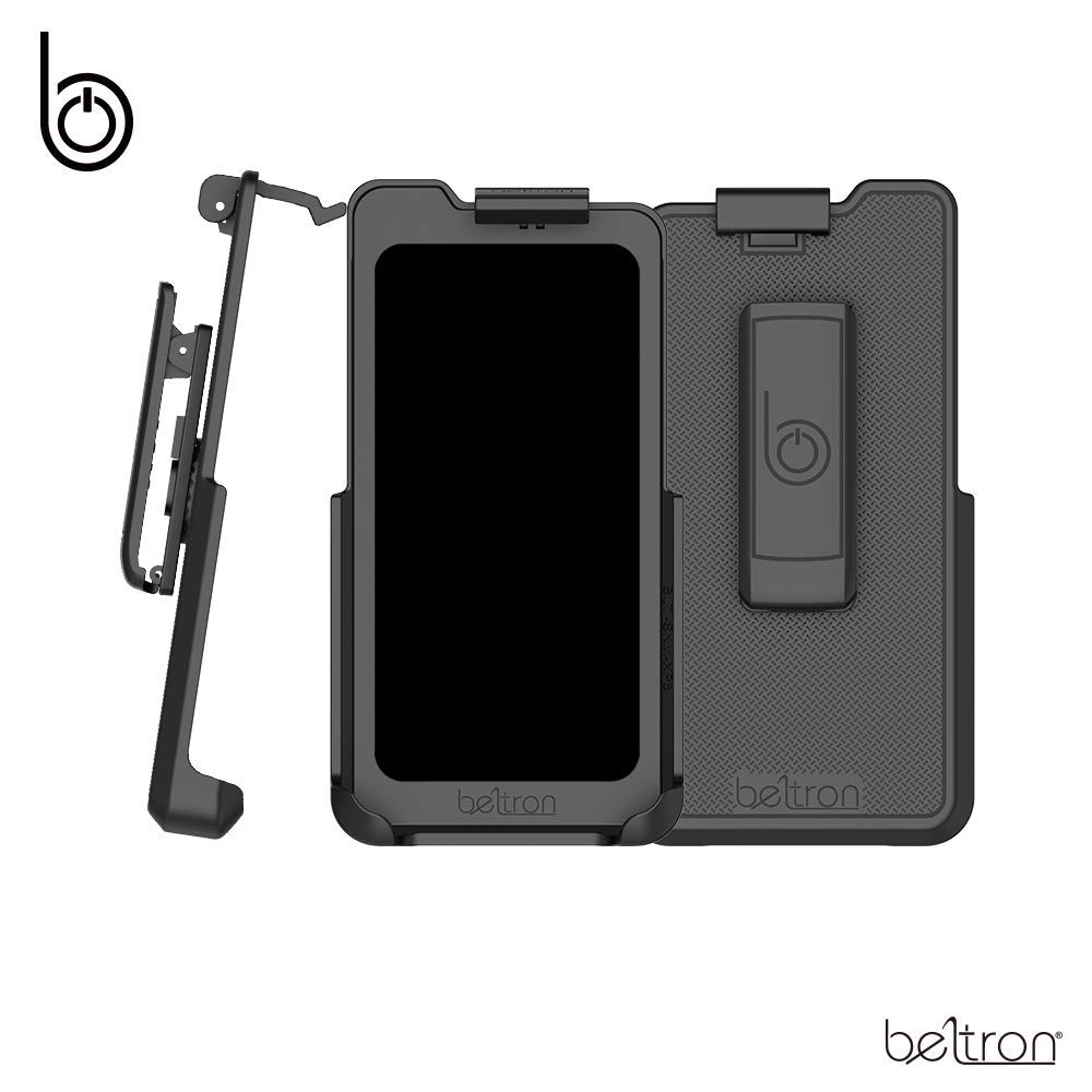 BELTRON Sonim XP8 Holster, Heavy Duty Belt Clip Holster (AT&T FirstNet Sprint Verizon XP8800) Features: Secure Fit, Quick Release Latch, Durable Rotating Belt Clip (Reliable and Lightweight) by BELTRON