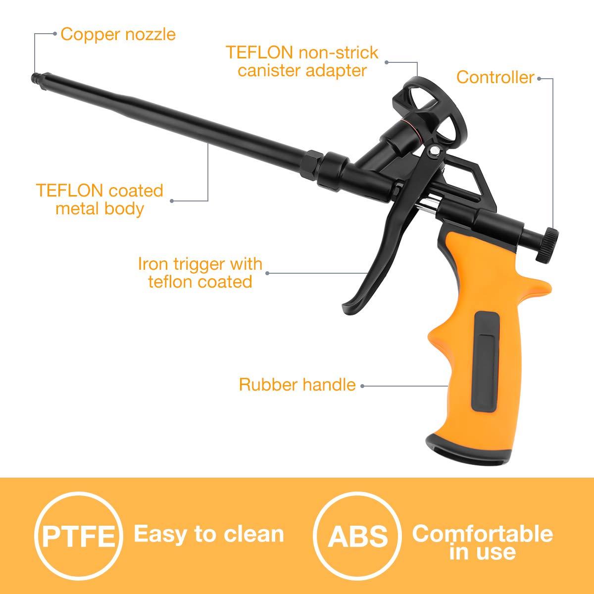 Amazon.com: Pistola de espuma, pistola de espuma de mano ...