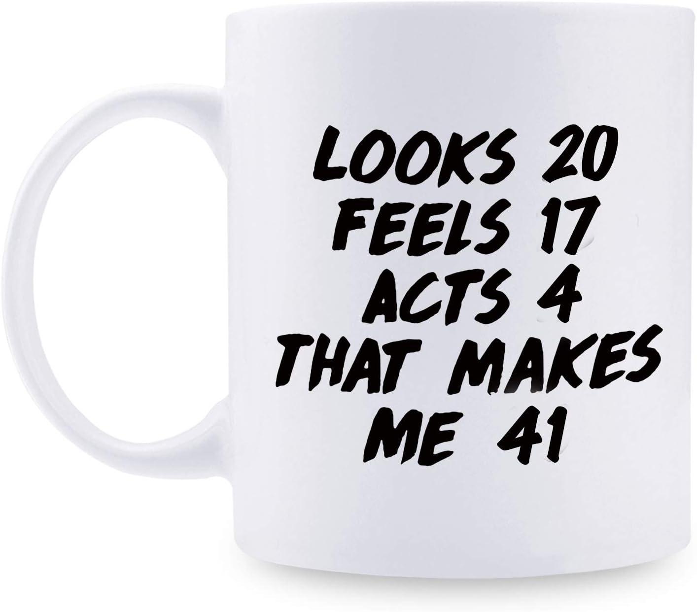 Regalo de 41 cumpleaños para hombres – 1978 regalos de cumpleaños para hombres, 41 años de edad, regalos de cumpleaños para papá, marido, amigo, hermano, él, colega, compañero de trabajo – 11 oz