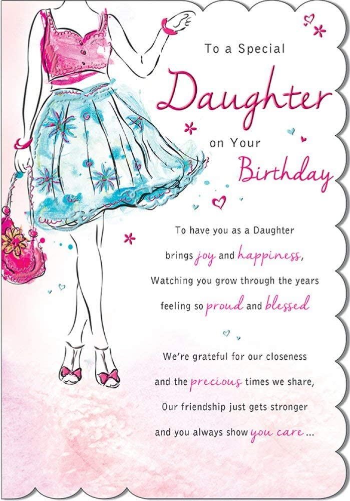 Regal Quality Mother/'s Day Card Mum From Daughter /& Son in Law