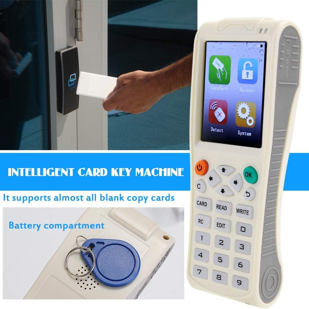 Cigopx Handheld Key Machine iCopy8 with Full Decode Function Intelligent Card Key Machine RFID NFC Copier IC//IDReader Writer Duplicator