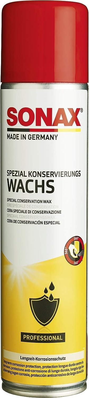 Sonax Spezialkonservierungswachs 400 Ml Transparentes Salz Und Spritzwasserfestes Sprühwachs Art Nr 04853000 Auto