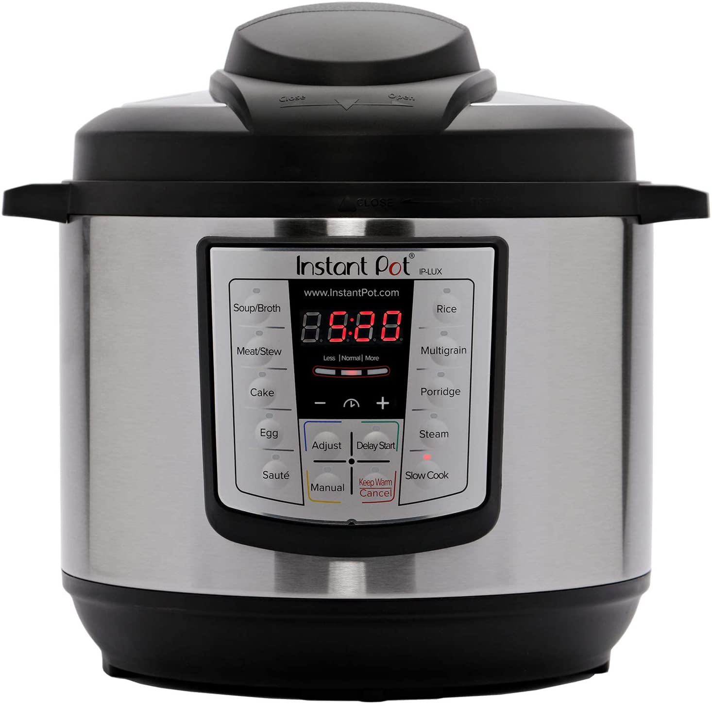 6-in-1 Electric Pressure Cooker, Sterilizer Slow Cooker, Rice Cooker, Steamer, Saute, and Warmer, 6 Quart