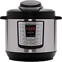 Instant Pot Lux 6-in-1 Electric Pressure Cooker, Slow Cooker, Rice Cooker, Steamer, Saute, and Warmer|6 Quart|12...