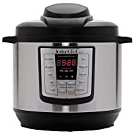 Instant Pot Lux 6-in-1 Electric Pressure Cooker, Slow Cooker, Rice Cooker, Steamer, Saute, and Warmer|6 Quart|12 One-Touch Programs