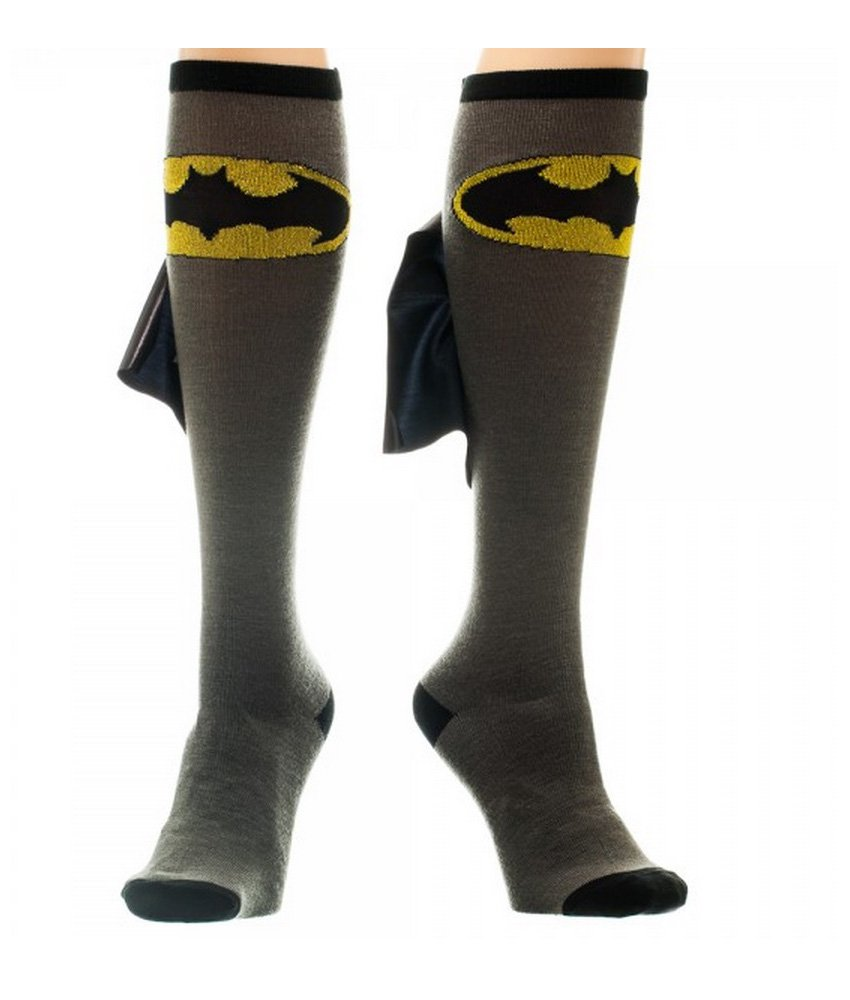 DC Comics Cape Socks One Size Bioworld 75681SPM000PP00