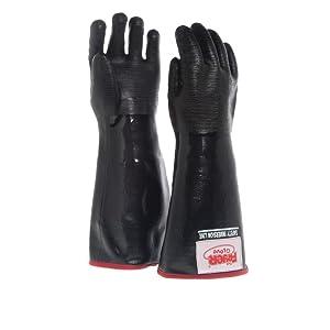The Fryer Glove Black Neoprene Fryer Gloves - 18