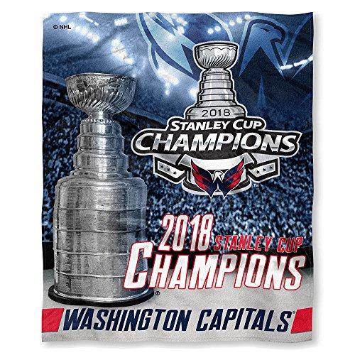 (The Northwest Company Washington Capitals 2018 Stanley Cup Champions Silk Touch Throw Blanket)
