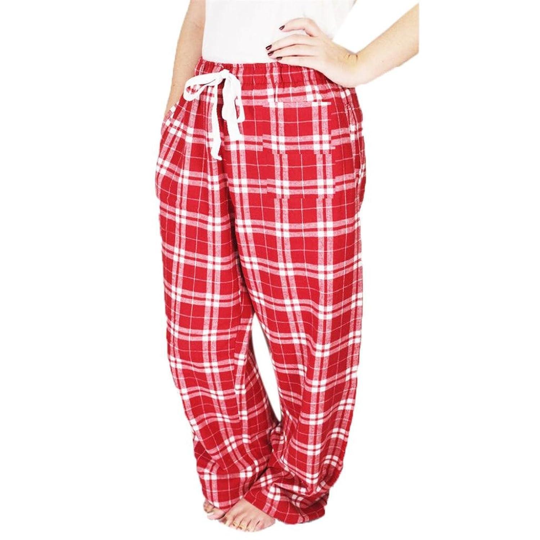 Pantalones de mujer, Ularma Mujeres Lápiz Ocasional Plaid Pantalones ...
