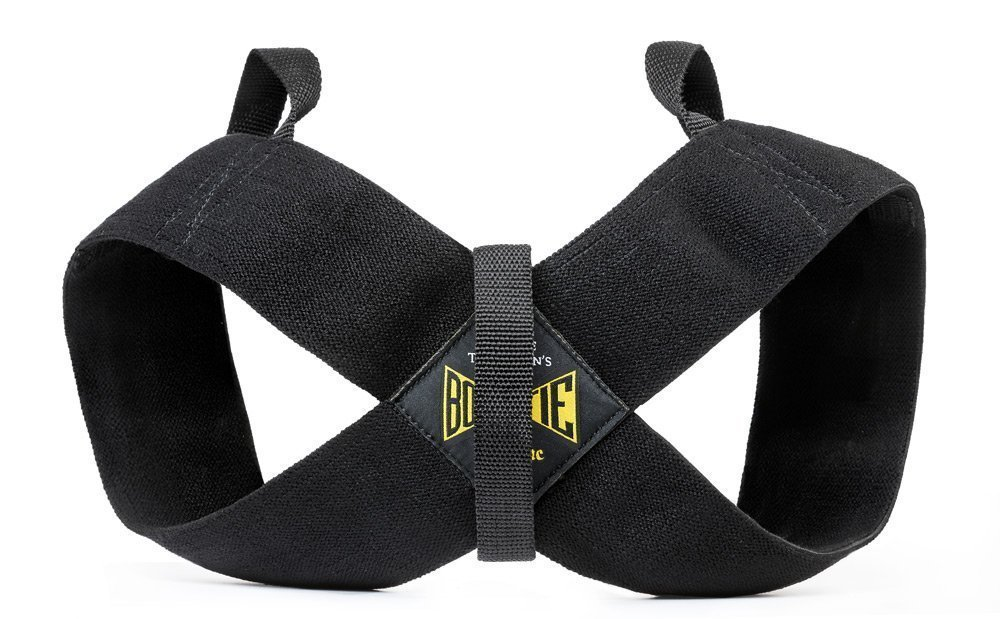 Spud Casual Bowtie Posture Support Brace Corrector No Rounded Shoulders Donnie Thompson (Medium: 150 lbs. – 185 lbs.)