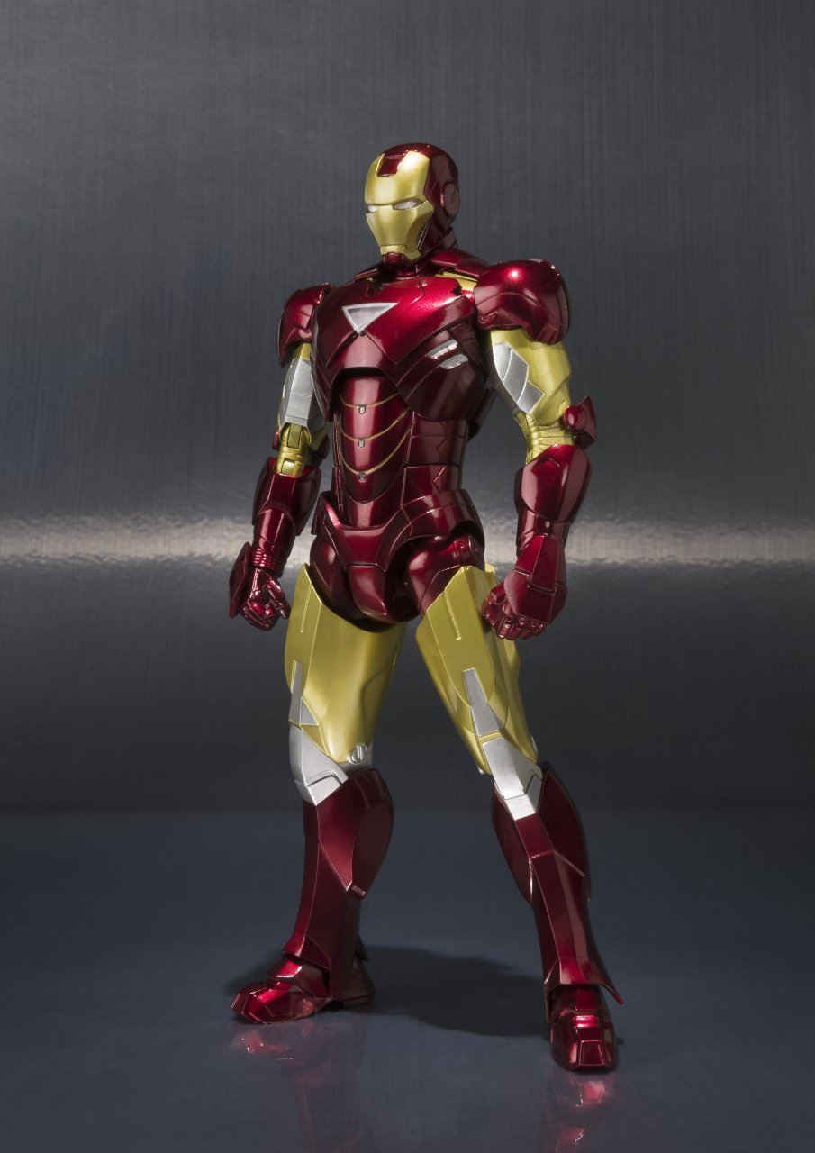 Bandai Tamashii Nations ''Iron Man 2'' S.H. Figuarts MK. VI & Hall of Armor Set by Tamashii Nations (Image #4)