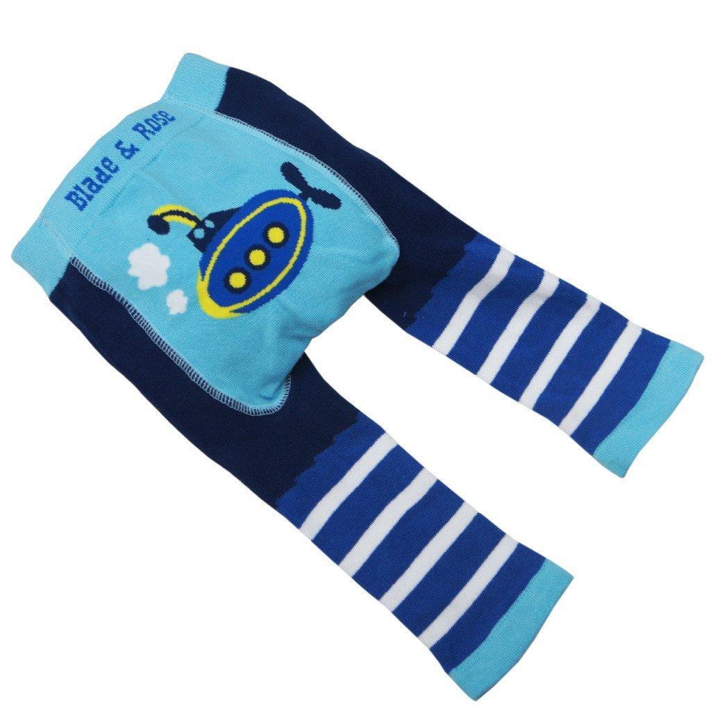 Blade and Rose Submarine Leggings + Matching Socks 2 Pack.blue