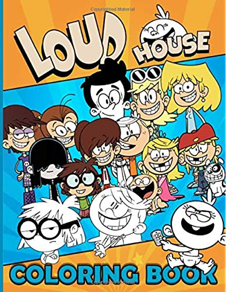 - Loud House Coloring Book: Loud House Color Wonder Adult Coloring Books For  Men And Women With Exclusive Images: Ellis, Carter: 9798645011734:  Amazon.com: Books