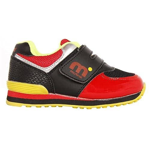 Zapatillas Deporte de Niño y Niña MISTRAL DN4018-1MI1 Negro Talla 20: Amazon.es: Zapatos y complementos