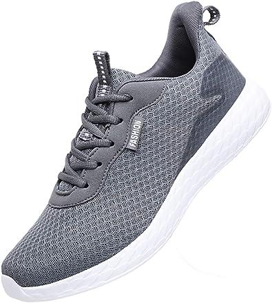 Zapatillas Deporte Hombre Zapatos de Entrenamiento para Malla Respirable Zapatillas Aptitud Ligero Deportes Zapatos para Correr Casual Sneakers: Amazon.es: Zapatos y complementos
