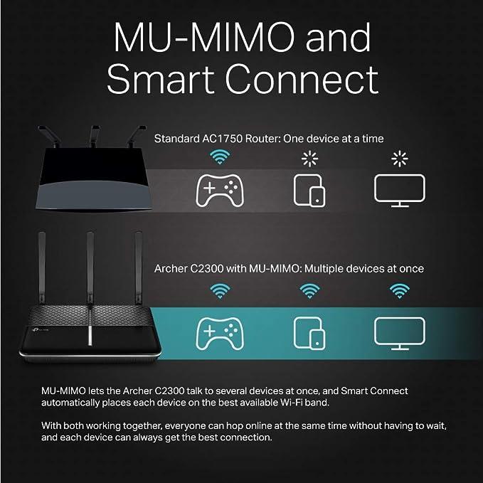 Amazon.com: RangeBoos - Router WiFi inteligente TP-Link ...