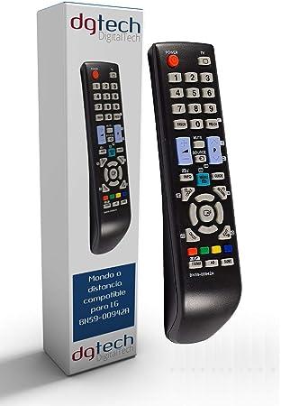 DigitalTech® - Mando de sustitución para televisores Samsung BN59-00942A: Amazon.es: Electrónica