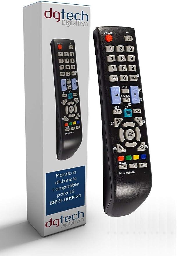 DigitalTech® - Mando de sustitución para televisores Samsung BN59 ...