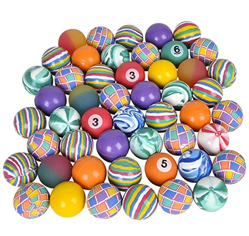 49 MM HIGH-BOUNCE BALL ASSORTMENT, Case of 6 by DollarItemDirect (Image #1)