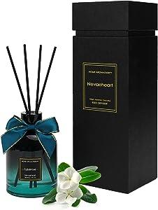NEVAEHEART Reed Diffuser, Tuberose Scented Reed Diffuser Set, Home Fragrance Scent Diffuser, Oil Diffuser Sticks, 6.1 oz (180ml)