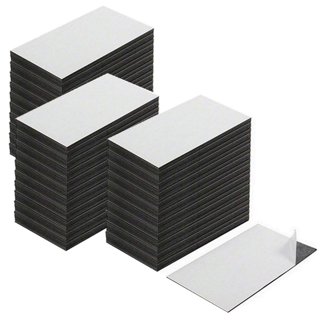 Self Adhesive Business Card Magnets, Extra Strong, Made in The USA! Value Pack of 300