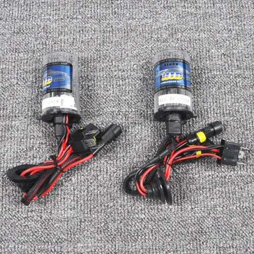 Pair 35W Hi-Xenon Lo-Halogen Hid Bulb Headlight Bi-xenon H4-2 4300K Car Lamp [CP669]