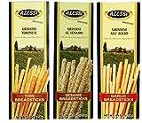 Alessi Authentic Italian Breadsticks 3 Flavor 6 Box