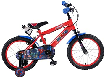 Bicicleta Infantil Niño Chico 16 Pulgadas Spiderman Hombre Araña ...