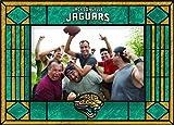 The Memory Company Jacksonville Jaguars Art Glass Horizontal Frame