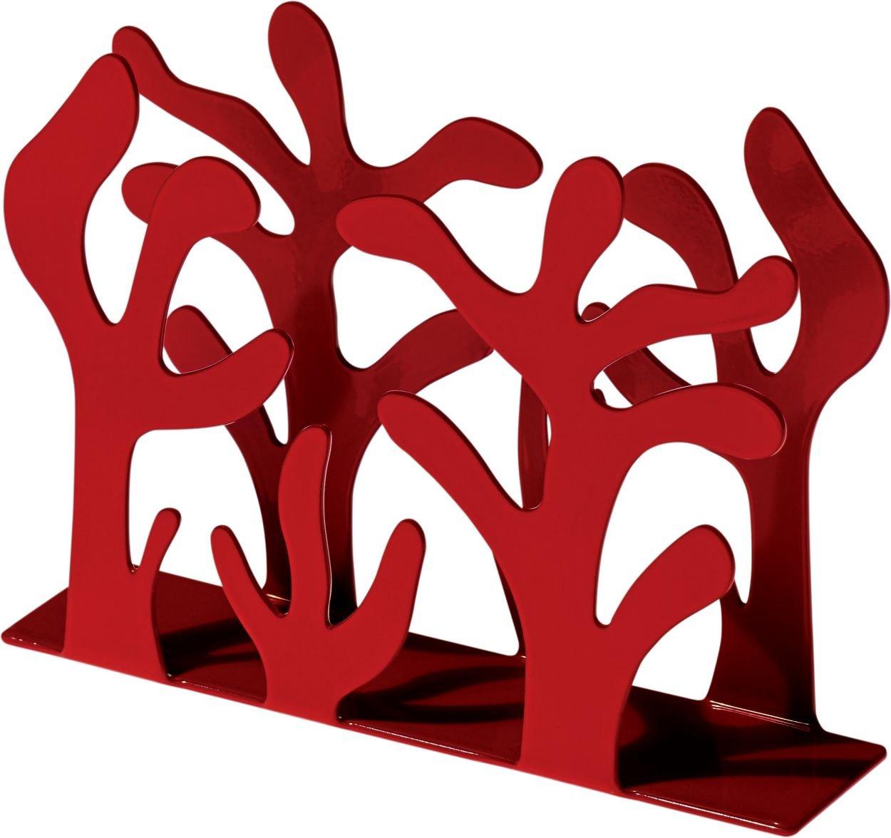Alessi Mediterraneo Napkin Holder, Red by Alessi