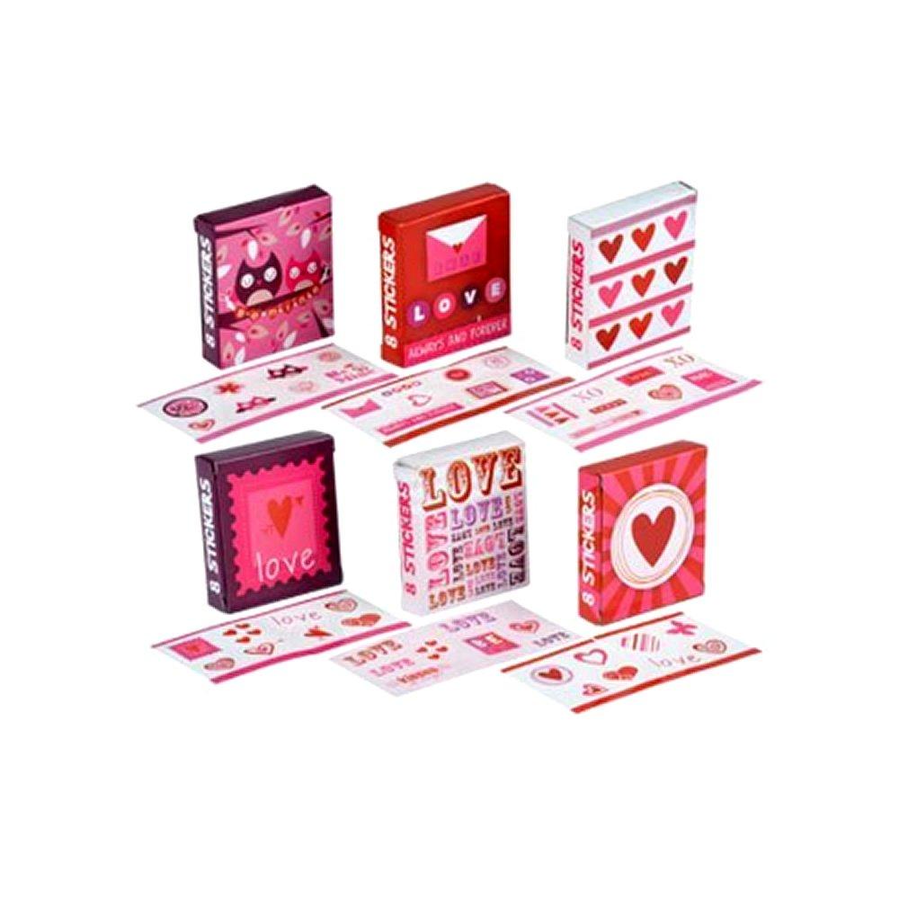 最適な価格 Valentine's Sticker 18-ct. Gift Boxes, 18-ct. Sticker Packs Packs B00RSEHHYI, 園芸用土のイワモト:910b91c6 --- mvd.ee