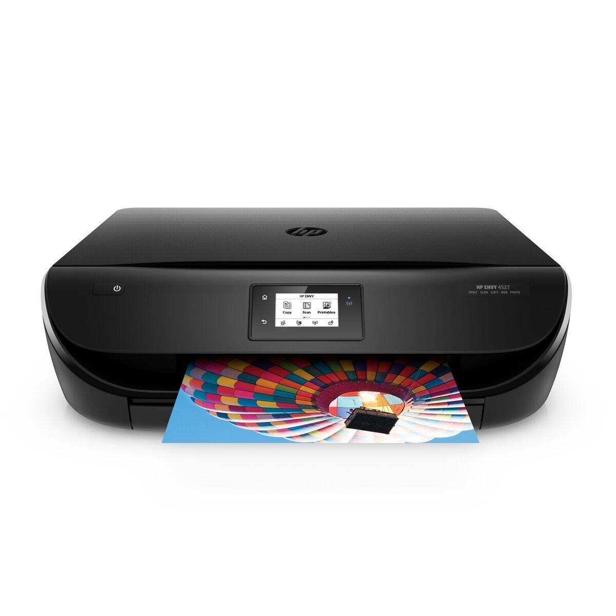 HP ENVY 4527 Stampante Multifunzione Wireless, Instant Ink Ready con 3 Mesi di Prova Gratuita Inclusi, 20 Pagine per Minuto J6U61B#BHC