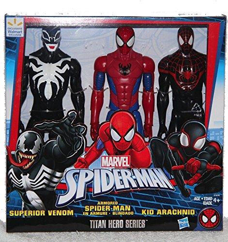 Kid Arachnid Marvel Titan Hero Series 3 set Spider-man Superior Venom
