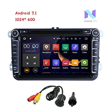 MCWAUTO Android 7.1 Double Din 8 Inch Car DVD Player for for VW Golf Polo Passat Tiguan Jetta Wifi...