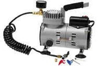 Mitre inflador compresor eléctrico y funcionamiento mediante corriente eléctrica de alta velocidad potencia bomba: Amazon.es: Deportes y aire libre