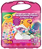 Crayola Trolls Washable Paint & Paper Sets