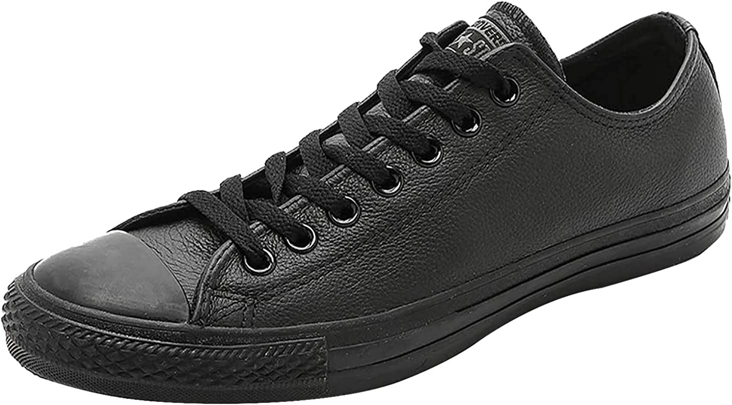converse all star mono ox leather trainers