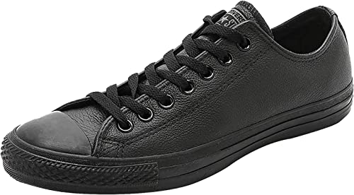 converse leather noir