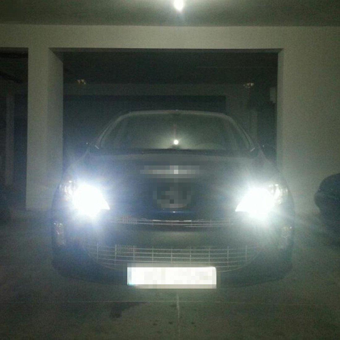 FEZZ Lampadine LED Auto S25 BA15S 1156 2835 66SMD CANBUS DRL Luci diurne