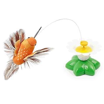 Drehender Schmetterling, Katzenspielzeug, Stahldraht, elektrisch ...