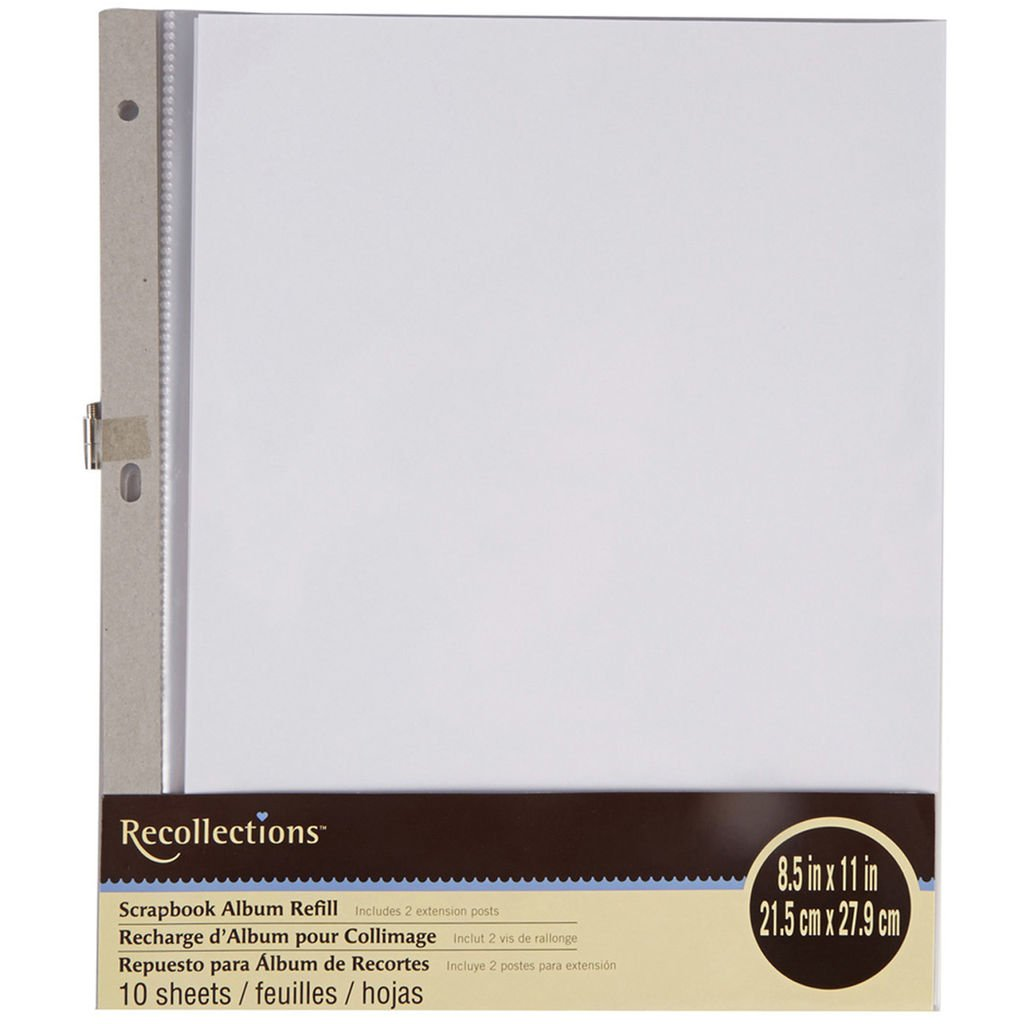 Recollections Scrapbook Album Refill Pages (12 x 12) 4336978212