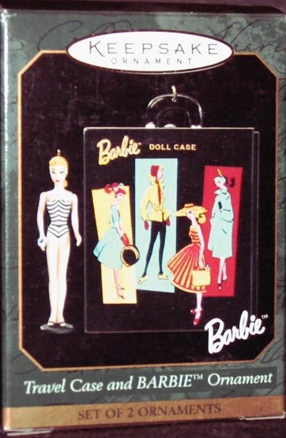 2001 Solo in the Spotlight Case Hallmark Ornament Barbie Miniature